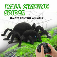 Black Electric RC Wall Climbing Spider with Remote Control Kids Adult Prank Toy