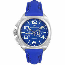 "*NEW CONDITION* TechnoMarine ""US NAVY CHRONOGRAPH"" - Royal Blue - NAUT01 *RARE*"