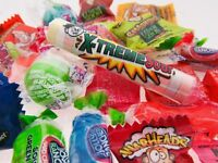 X-Treme Sour Candy Mix 1/2lb Candies Half Pound 8oz Tart Sweets Sours BFR