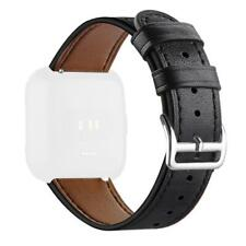 For Fitbit Versa Replacement Leather Watch Band Bracelet Wrist Strap Wristband