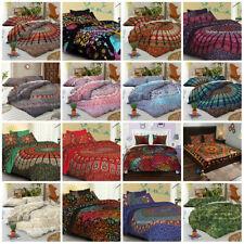 Bedding Set King Size Duvet Cover Mandala Hippie Gypsy Indian Quilt Cover Boho