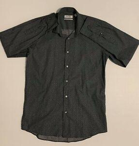 CALVIN KLEIN Long Sleeve Dress Shirt Slim Fit Mens - Size 40