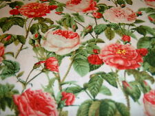 Rosen Roses   Redoute   Baumwolle Patchworkstoff  USA Design   50x110 cm  Neu
