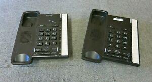 Job Lot 2 x BT converse 2200 040208 Corded Telephone Black No Handset & Stand