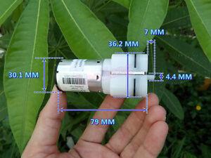 DC 12V Micro Air Pump Oxygen Pump Large Flow For Car Medical Aquarium Fish Tank