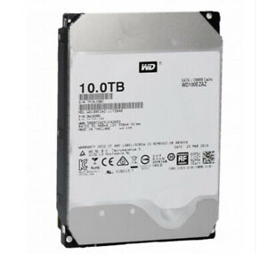 "Western Digital 10TB Internal HD 3.5"" WD SATA HDD Hard Drive lFF 6Gbps WD100EZAZ"
