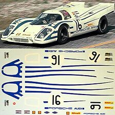 Porsche 917K - Equipo Audi - Sebring 1970 - #16 - 1:24 Adhesivo/ adhesivo