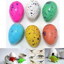 6Pcs Hatching Growing Dinosaur Dino Eggs Add Water Magic Cute Children Kids Toy