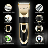 Rechargeable Electric Shaver Razor Men Beard Haircut Clipper Trimmer Grooming^^^
