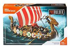 Mega Bloks Construx Pro Builder Viking Longship Raid Drakkar Viking Barco 995pc