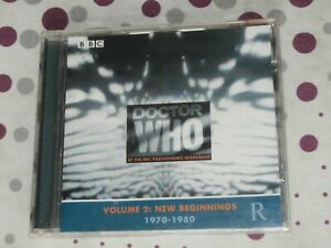 Doctor Who at the BBC Radiophonic Workshop vol 2: New beginnings 1970-1980  CD