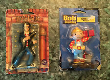 2001 Harry Potter & 2002 Bob The Builder Wilton Vintage Birthday Candles