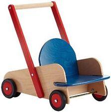 Lauflernwagen HABA 1646 HOLZ Puppenwagen Schiebewagen Holzwagen Lauflernhilfe
