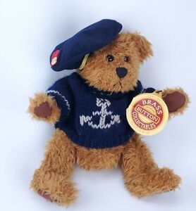 """Pickford Bears Tango Plush 10"""" The Bear of Happiness Brass Button Collectables"""