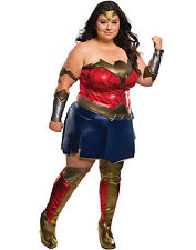 Dawn of Justice Wonder Woman Deluxe Women's Adult Halloween Costume Plus Size