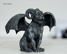 Winged Ram Horned Chimera Gargoyle Guardian Statue 'Stone' Gothic Superb Detail