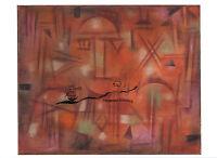 Paul Klee Kunstpostkarte  Bauhaus Junge Pflanzung