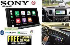 "Sony Xav-Ax5000 7"" Apple CarPlay/Android Media Receiver Double Din w/ Bluetooth"