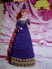 RAPUNZEL Annie's Attic Fairy Tale Collection CROCHET PATTERN FITS BARBIE DOLL