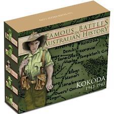 2012 1 oz Proof Silver Battle of Kokoda Coin, Famous Battle Series Coin