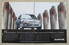 E624 - Advertising Pubblicità -1995- CHRYSLER NEON BREEZE