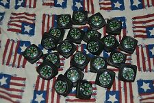5 pc Lot, Compasses for Paracord Bracelets Survival 3/4 square inch!!! **USA**