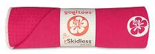 HIBISCUS Yogitoes R skidless yoga towel 24X68 FASTSHIP MAGENTA MANDUKA