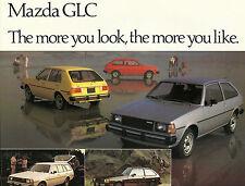 1980 MAZDA GLC Brochure / Flyer: 3 Door, 5 Door, STATION WAGON, HATCHBACK, SPORT