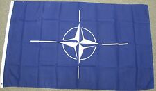 3X5 NATO FLAG WORLD PEACE NEW BANNER AMERICA EU US F524