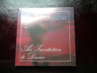 Invitation to Dance - Beautiful GIFT Quality Mint In Classical Mood Book and CD