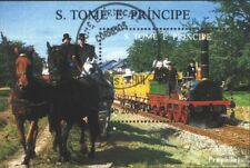 Sao Tome e Principe block353 (complete issue) used 1996 Railway