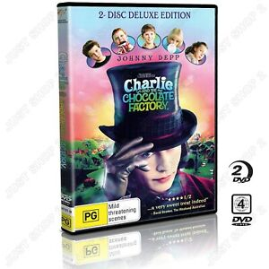Charlie And The Chocolate Factory DVD : 2 Disc Deluxe Edition : Brand New