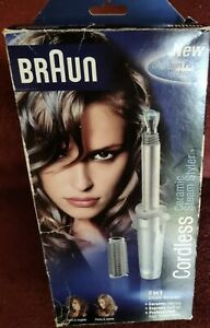 New Braun Independent Steam Cordless Gas Styling Tongs & Brush C20S New