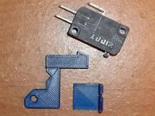 Nintendo NES Quiet Softer Zapper Light Gun Microswitch Kit 3D Printed Bracket