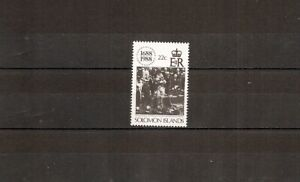 Solomon Islands 1988 SG636 1v of set NHM Lloyds of London-King George V and Quee