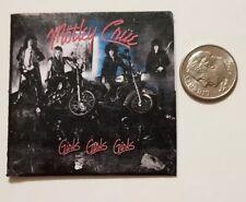 Miniature record album Barbie Gi Joe 1/6  Playscale  Motley Crue Action girls
