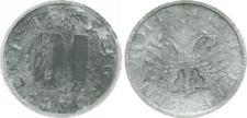 10 Groschen Österreich 1949(!) überprägt auf 10 Reichspfennig Fehlprägung, s-ss