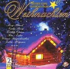 Beliebte Stars Wünschen Frohe Weihnachten -2 CD Ivan Rebroff Tölzer Knabenchor