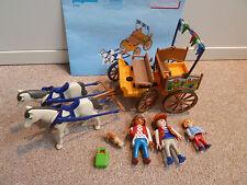 Playmobil #4186 Pferdekutsche, gebraucht