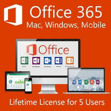 Microsoft Office 365 Pro Plus For Mac & Download Link Windows - 5 PC/ 5 Devices