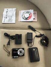Casio Ex-275 Digital Camera 2 battery Chargers Pouch Usb Cable And Etc