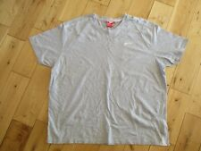 SLAZENGER Mens 100% Cotton Grey Short Sleeve T Shirt size 4XL
