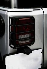 Tail Light Cover-Euro Guards Black 07-16 Jeep Wrangler JK fits 2007 Wrangler
