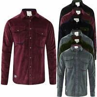 Men's Jacksouth Casual Shirt Long Sleeve Corduroy Cotton Shirts Top Size M-3XL