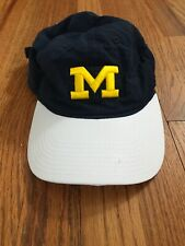 Michigan Wolverines Adidas Hat Snapback Climalite Preowned