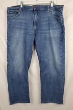 Levi's 505 Men's Blue Denim Jeans sz 42x30 **altered Hem**