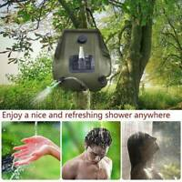 20L Portable Shower Heating Pipe Bag Solar Water Heater Outdoor Camping ne  ql*