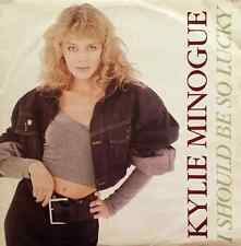 "KYLIE MINOGUE - I Should Be So Lucky (12"") (VG/G)"