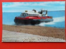 POSTCARD HOVERTRAVEL HOVERCRAFT