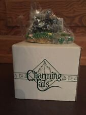 Silvestri Charming Tails Dean Griff Time Reflect Skunk Figurine with Box